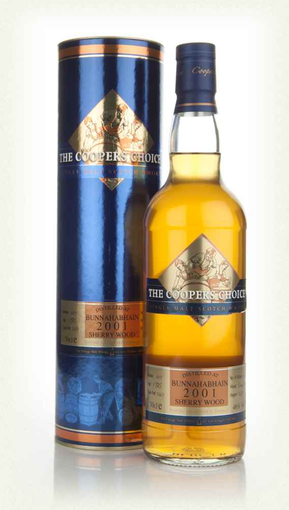 Bunnahabhain 9 Years Old 2001 Sherrywood - The Coopers Choice (The Vintage Malt Whisky Co.)