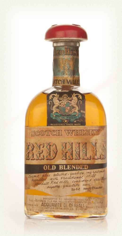 Red Hills Old Blended Scotch Whisky - 1970s