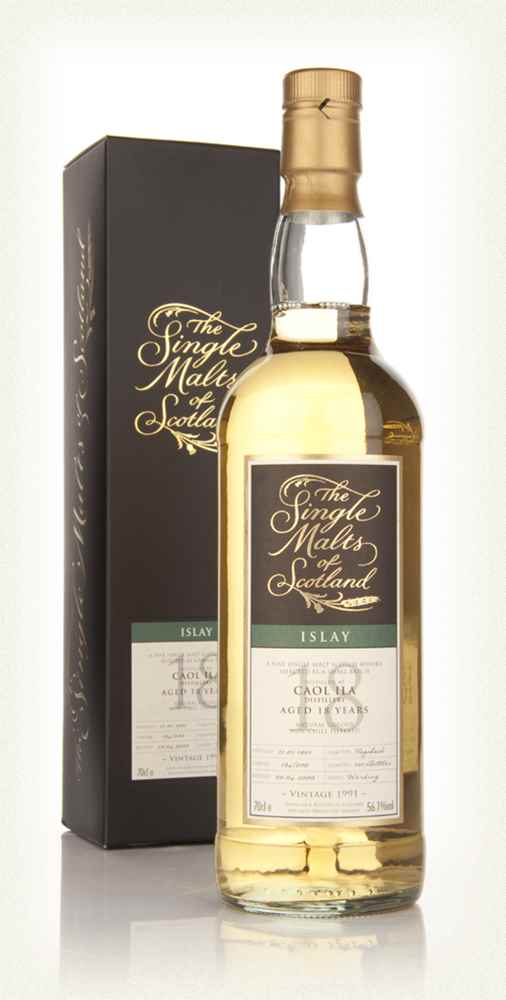 Caol Ila 18 Year Old 1991 - Single Malts of Scotland (Speciality Drinks)