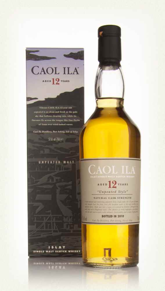 Caol Ila 12 Year Old Unpeated (2010 Release)