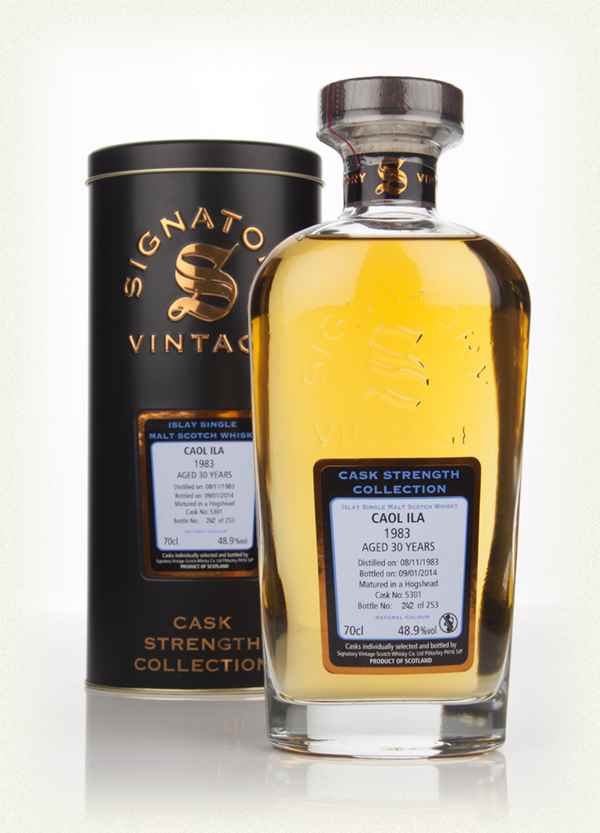 Caol Ila 30 Year Old 1983 (cask 5301) - Cask Strength Collection (Signatory)