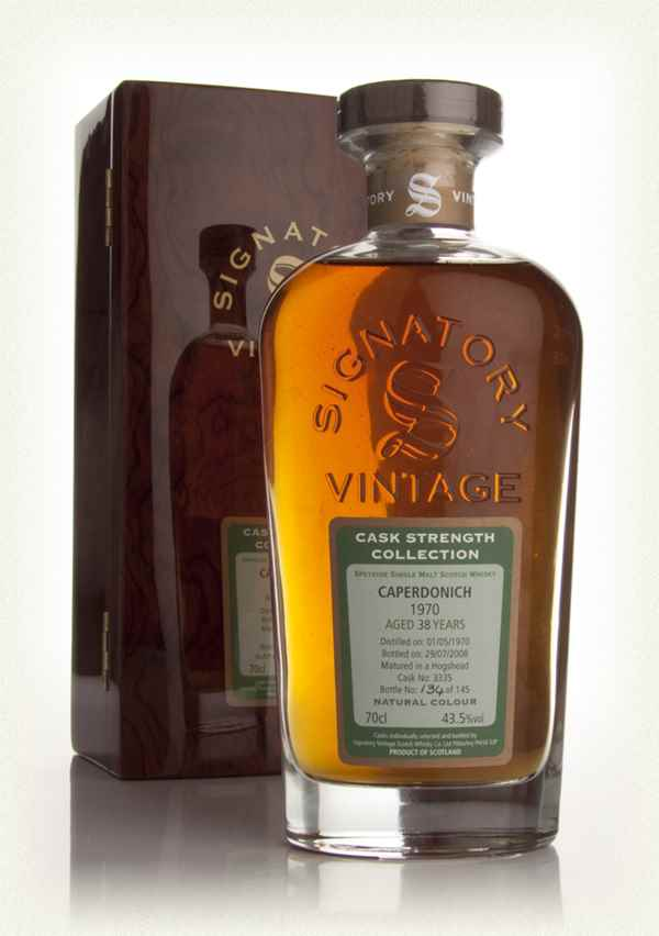 Caperdonich 38 Year Old 1970 - Cask Strength Collection Rare Reserve (Signatory)
