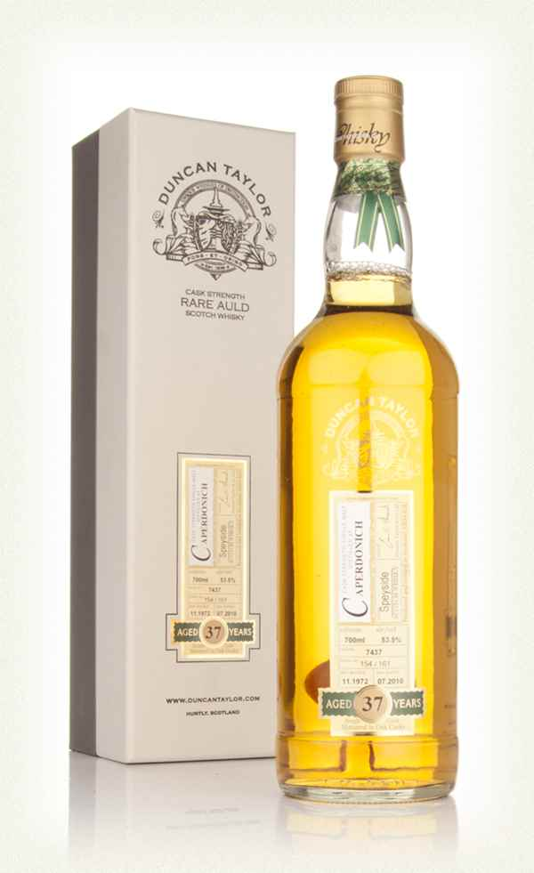 Caperdonich 37 Year Old 1972 Cask 7437 - Rare Auld (Duncan Taylor)