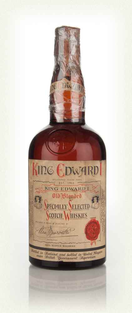 King Edward I Blended Scotch Whisky - 1960s