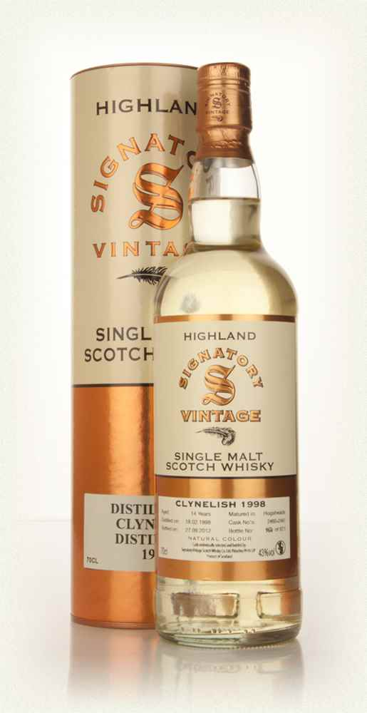 Clynelish 14 Year Old 1998 (casks 2460+2461) (Signatory)