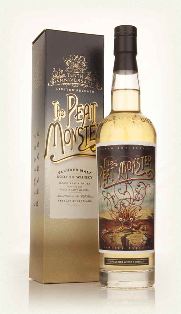 Compass Box Peat Monster 10th Anniversary