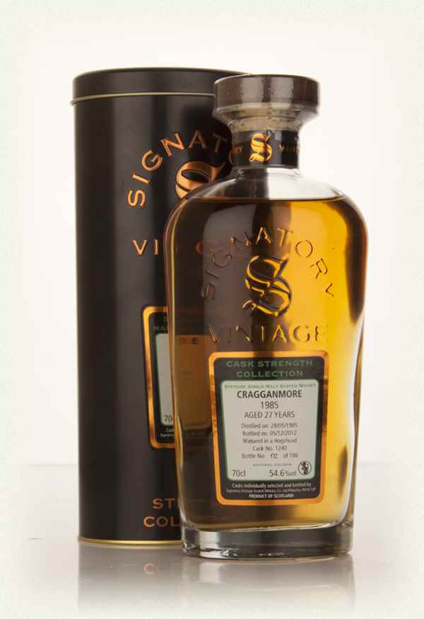 Cragganmore 27 Year Old 1985 (cask 1240) - Cask Strength Collection (Signatory)