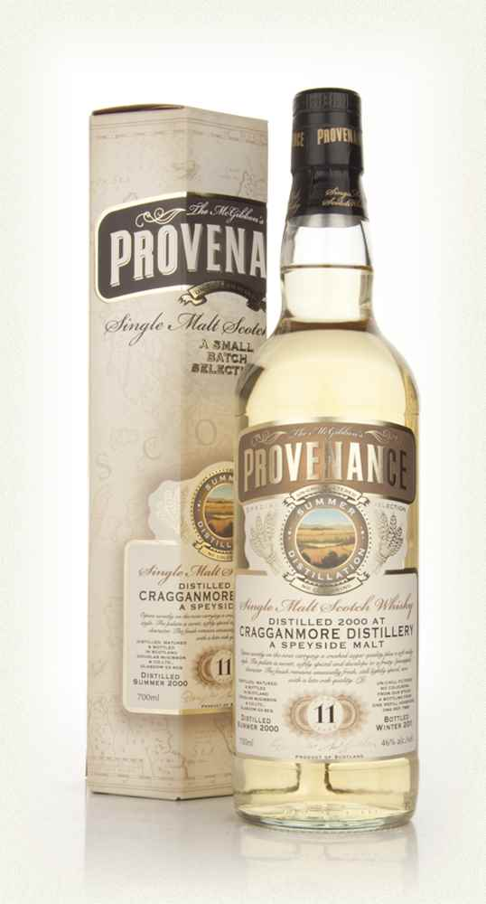 Cragganmore 11 Year Old 2000 - Provenance (Douglas Laing)