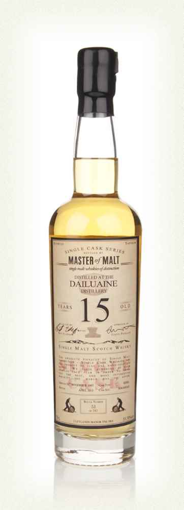 Dailuaine 15 Year Old 1997 - Single Cask (Master of Malt)