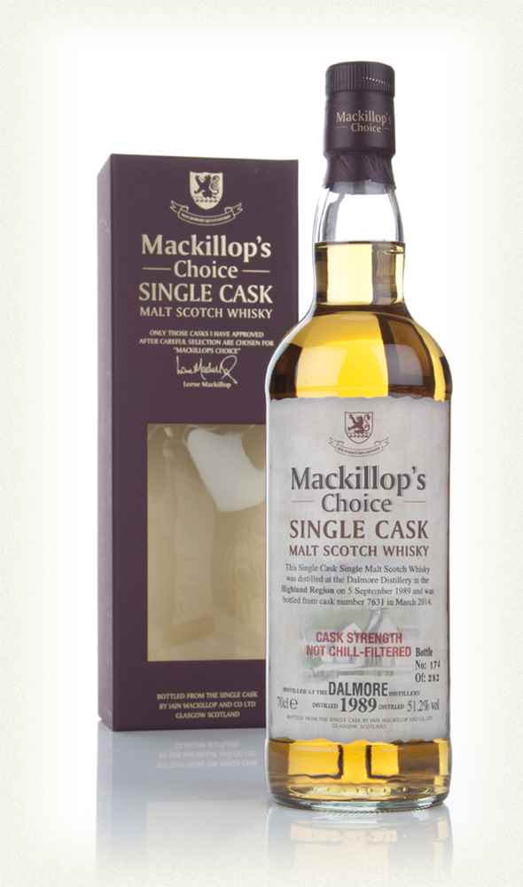 Dalmore 24 Year Old 1989 (cask 7631) - Mackillop's Choice (bottled 2014)