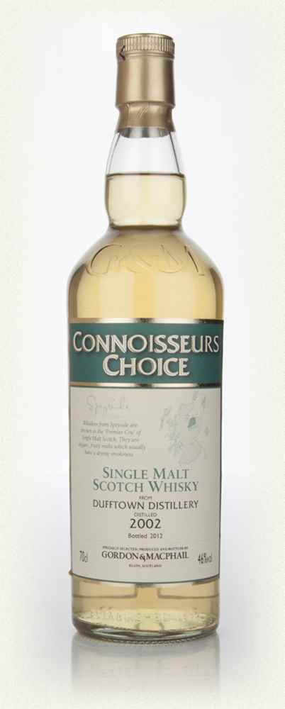 Dufftown 2002 - Connoisseurs Choice (Gordon and MacPhail)