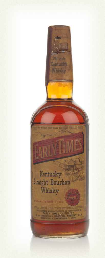 Early Times Kentucky Straight Bourbon Whiskey - 1968