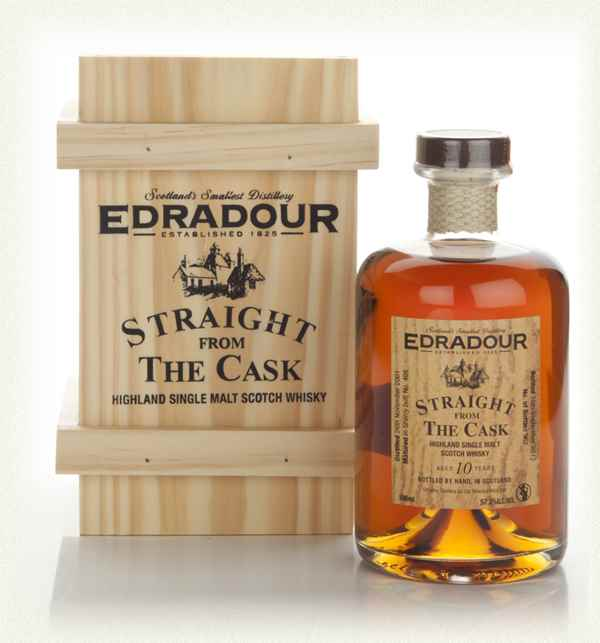 Edradour 10 Year Old 2001 (cask 498) - Straight from the Cask
