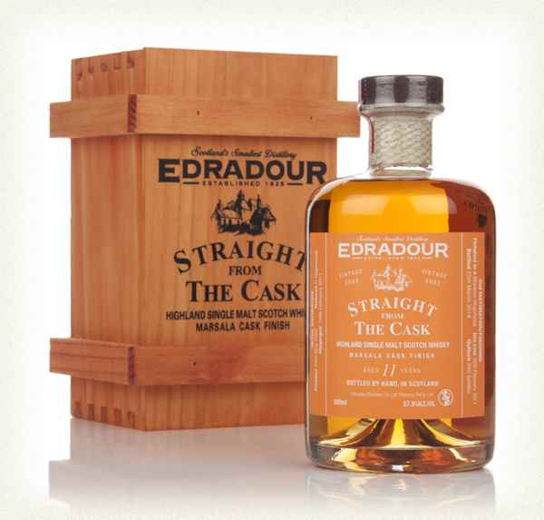 Edradour 11 Year Old 2002 Marsala Cask Finish - Straight From The Cask 57.9%
