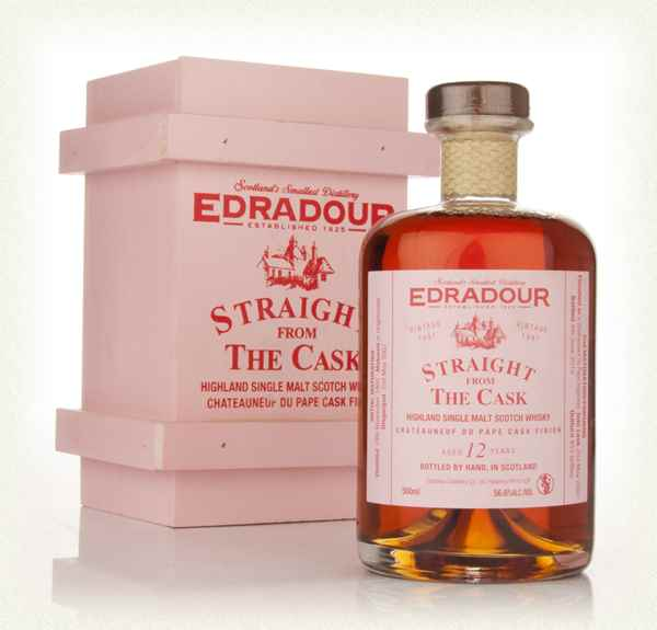 Edradour 12 Year Old 1997 Châteauneuf-du-Pape Cask Finish - Straight from the Cask