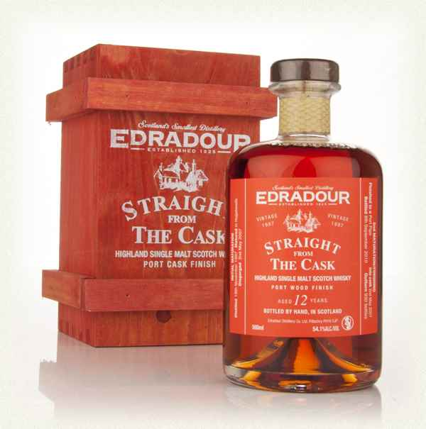 Edradour 12 Year Old 1997 Port Wood Finish - Straight from the Cask