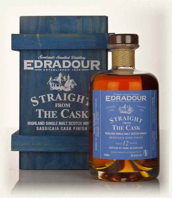Edradour 12 Year Old 1998 Sassicaia Cask Finish - Straight from the Cask 55.6%