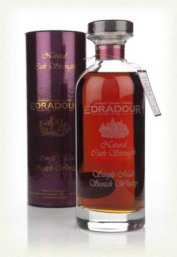 Edradour 1999 Natural Cask Strength (cask 295) - Ibisco Decanter