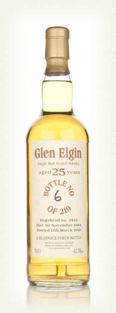 Glen Elgin 25 Year Old 1984 Cask 2852 (Bladnoch)