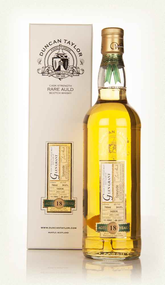 Glen Grant 18 Year Old 1992 - Rare Auld (Duncan Taylor)