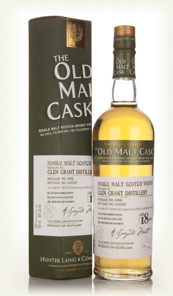 Glen Grant 18 Year Old 1995 (cask 9920) - Old Malt Cask (Hunter Laing)