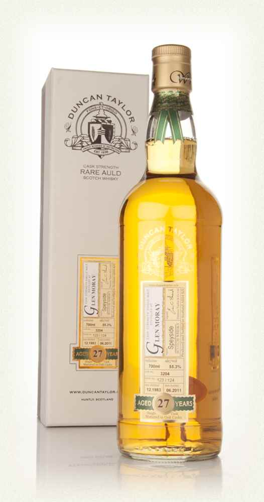 Glen Moray 27 Year Old 1983 - Rare Auld (Duncan Taylor)