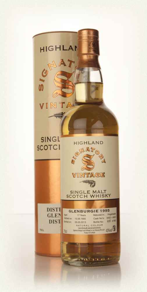Glenburgie 17 Year Old 1995 (casks 6452+6453) (Signatory)