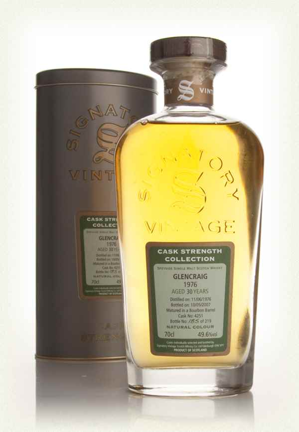 Glencraig 30 Year Old 1976 - Cask Strength Collection (Signatory)