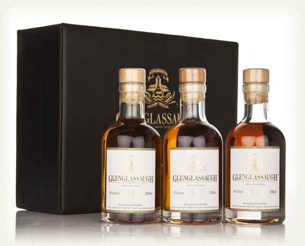 Glenglassaugh Rare Cask Series 26, 37 and 43 Year Old