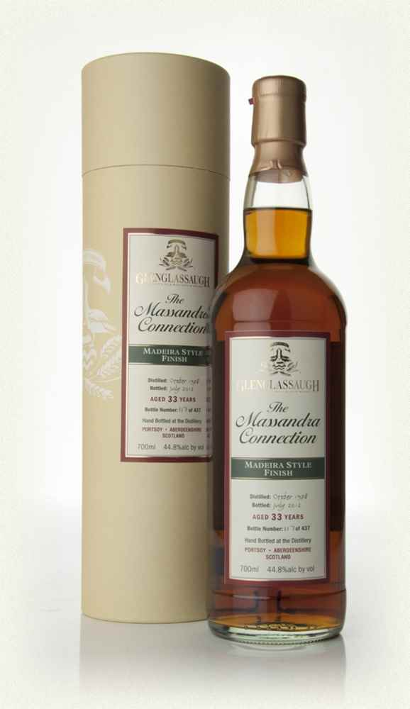 Glenglassaugh 33 Year Old 1978 - Madeira Style Wine Cask Finish