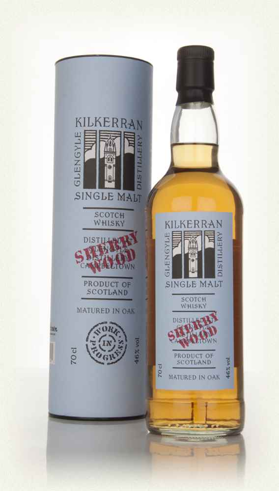 Kilkerran Work In Progress 5th Release -  Sherry Wood