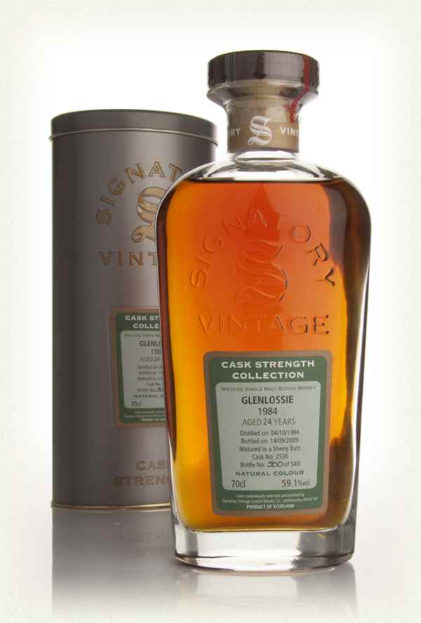Glenlossie 24 Year Old 1984 - Cask Strength Collection (Signatory)