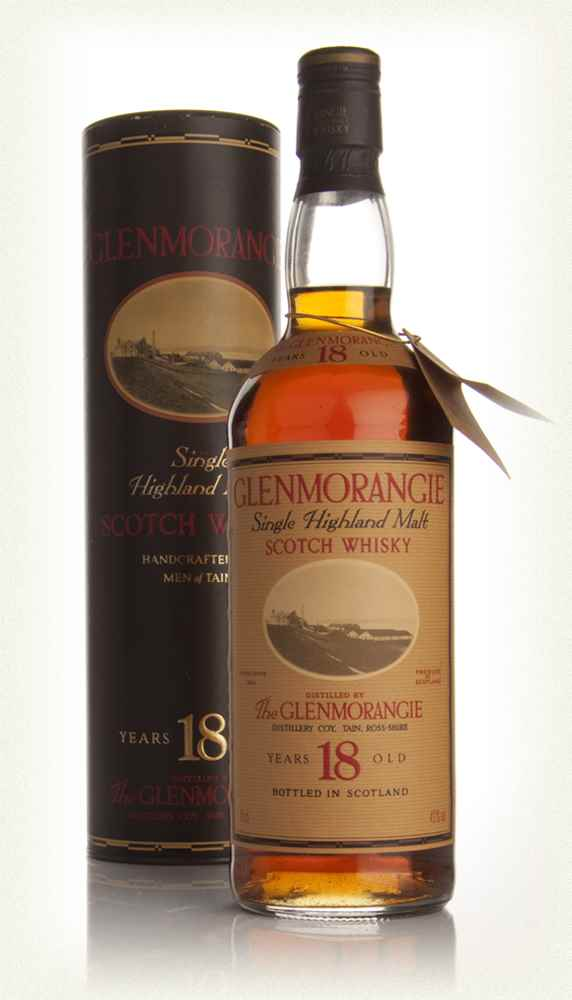 Glenmorangie 18 Year Old (Very Old Bottle)