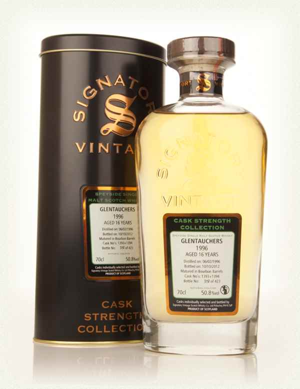 Glentauchers 16 Year Old 1996 (casks 1393+1394) - Cask Strength Collection (Signatory)