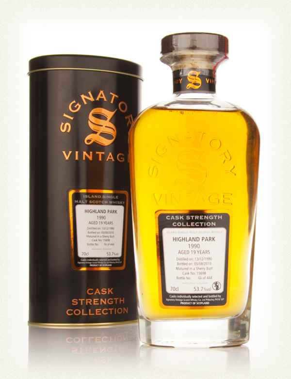 Highland Park 19 Year Old 1990 Cask 15698 - Cask Strength Collection (Signatory)