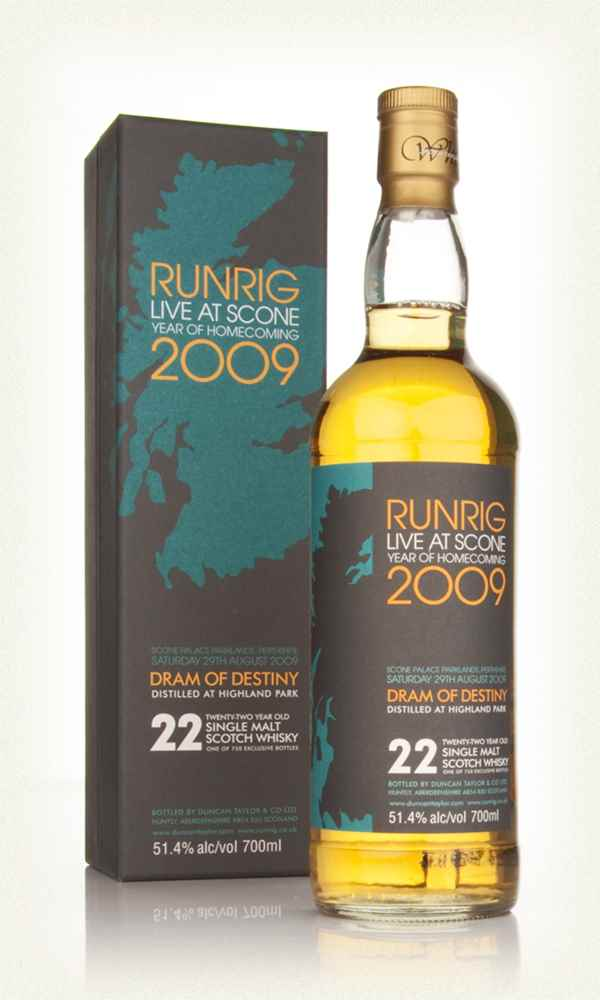 Highland Park 22 Year Old Runrig 2009 Dram of Destiny (Duncan Taylor)