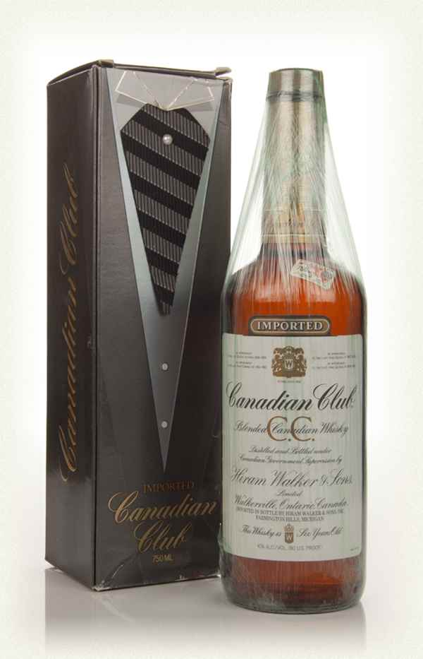 Canadian Club 6 Year Old Whisky - 1982 (with Presentation Box)