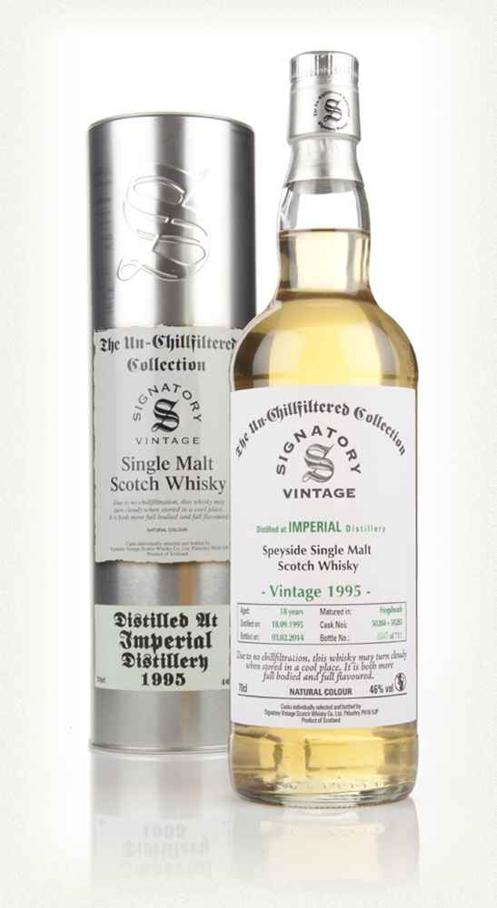 Imperial 18 Years Old 1995 (casks 50284+50285) - Un-Chillfiltered (Signatory)