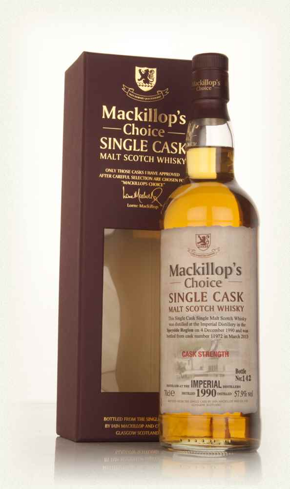 Imperial 22 Year Old 1990 (cask 11972) - Mackillop's Choice