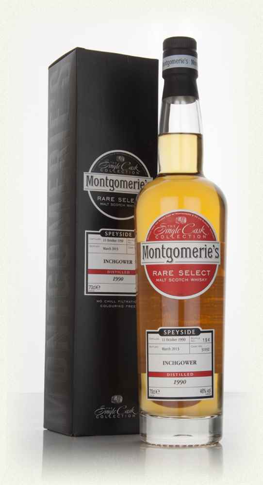 Inchgower 22 Year Old 1990 (cask 31032) - Rare Select (Montgomerie's)