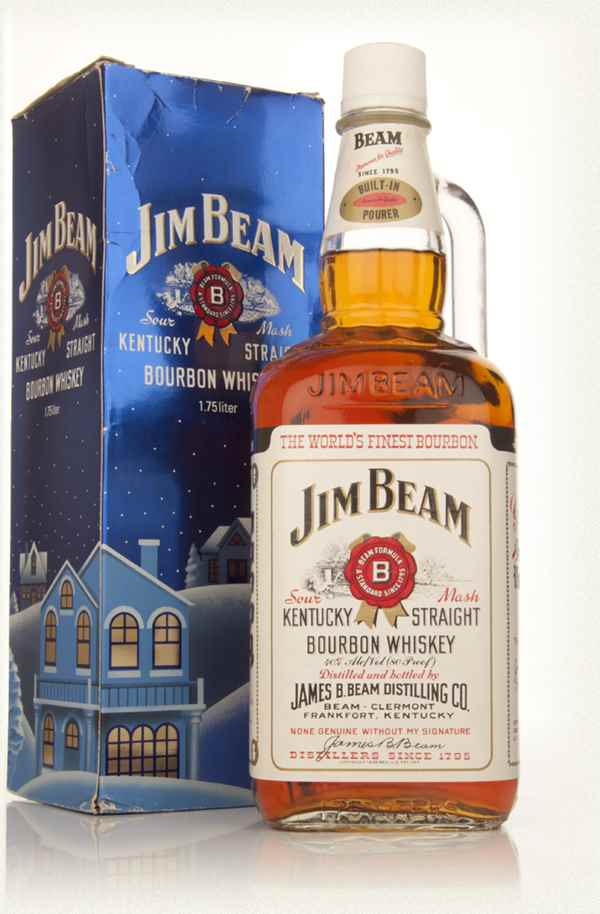 Jim Beam 4 Year Old - Early 1980s