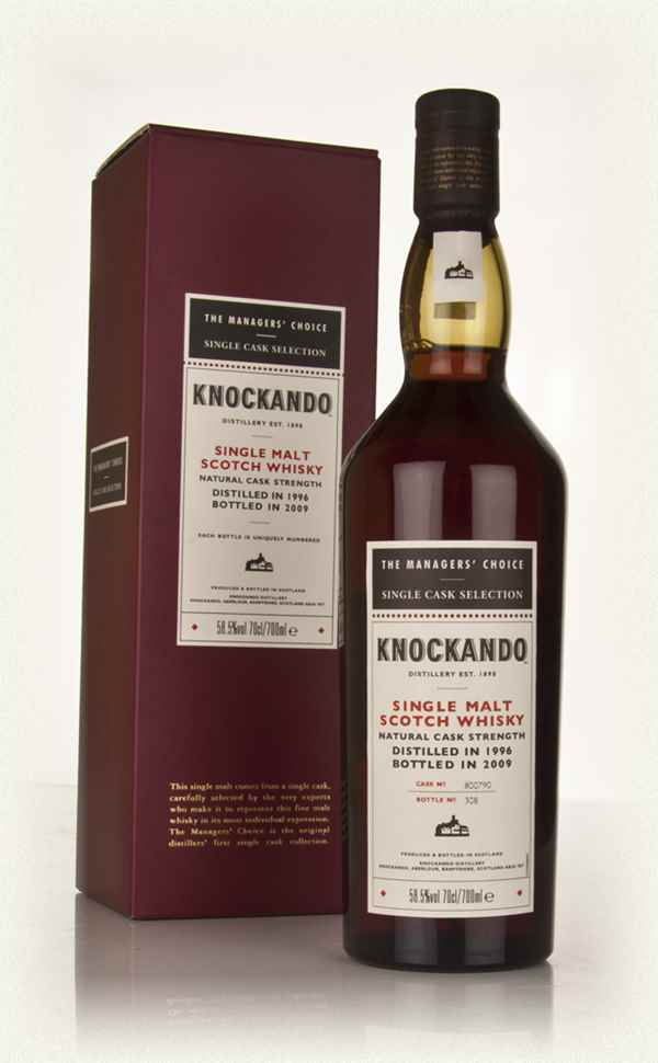 Knockando 1996 - Managers Choice