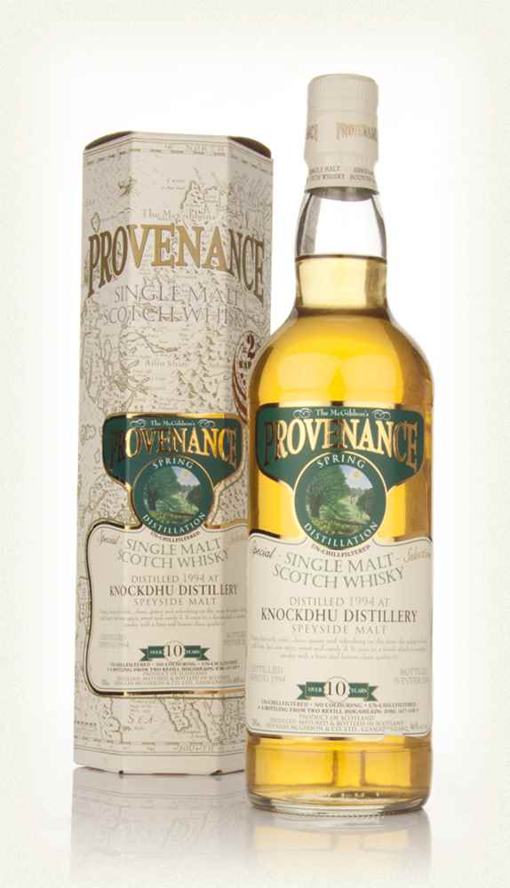 Knockdhu 10 Year Old 1994 - Provenance (Douglas Laing)