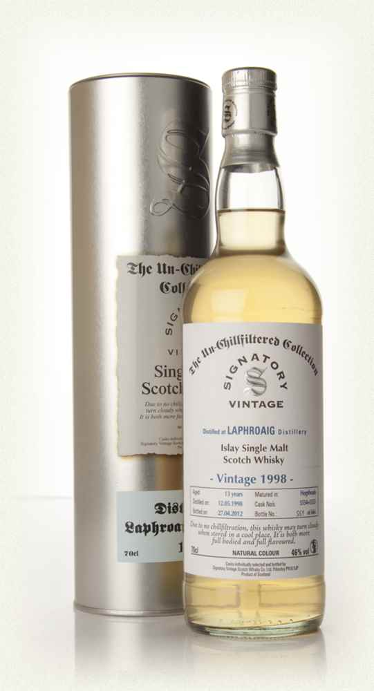 Laphroaig 13 Year Old 1998 - Un-Chillfiltered (Signatory)