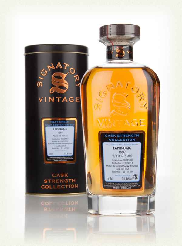 Laphroaig 17 Year Old 1997 (cask 3353) - Cask Strength Collection (Signatory)
