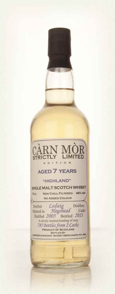 Ledaig 7 Year Old 2005 - Strictly Limited (Càrn Mòr)