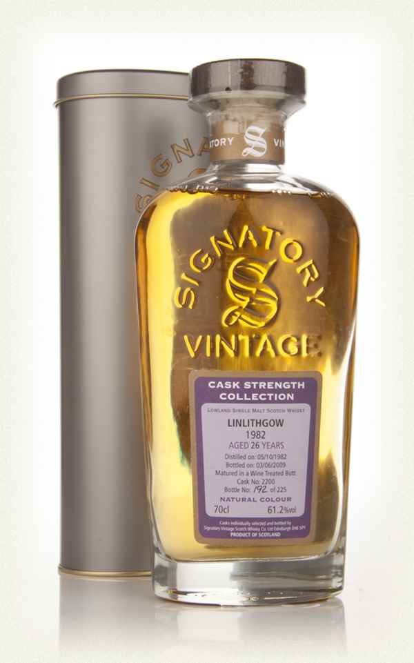 Linlithgow 26 Year Old 1982 - Cask Strength Collection (Signatory)