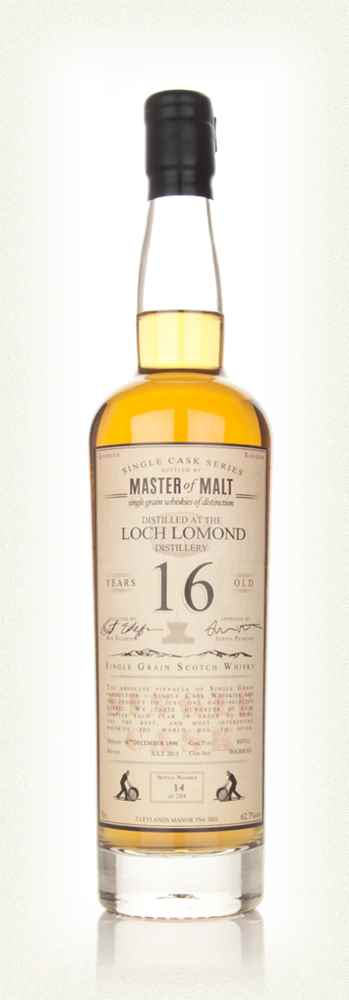 Loch Lomond 16 Year Old - Single Cask (Master of Malt)