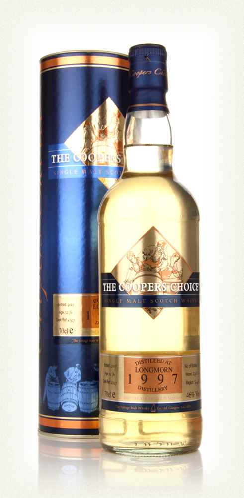 Longmorn 12 Year Old 1997 - The Coopers Choice (The Vintage Malt Whisky Co.)