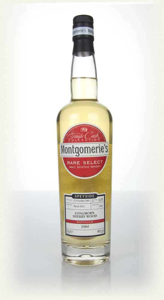Longmorn 28 Year Old 1984 (cask 3212) - Rare Select (Montgomerie's)